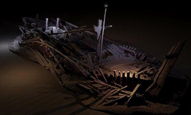 ВЧерном море отыскали  неменее  40 старинных  кораблей