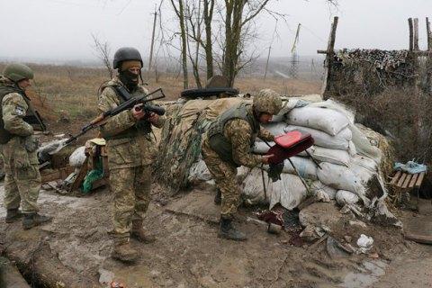 Боевики обстреляли из минометов позиции морпехов под Широкино