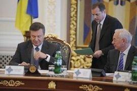 В график Януковича внесли заседание СНБО