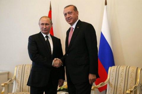 Путин назвал переговоры сЭрдоганом конструктивными и главными