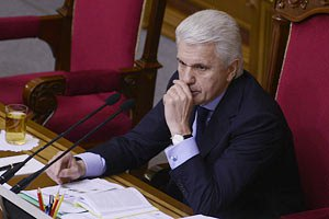 Литвин открыл вечернее заседание парламента