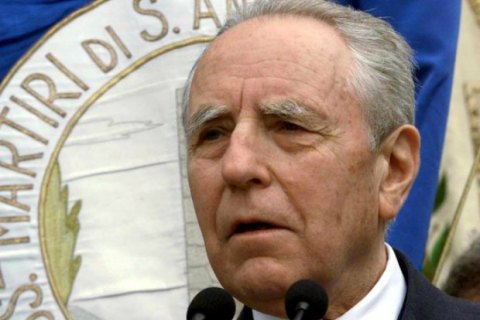 Скончался прошлый президент Италии Карло Чампи