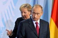 Путин провел переговоры с Меркель по Украине