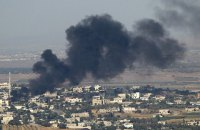 Авиация нанесла удар по сирийскому городу у турецкой границы