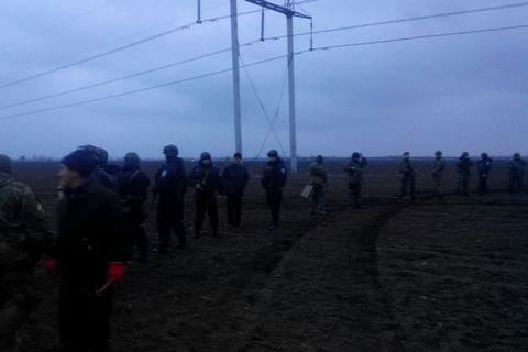 Полиция проверит сообщения об избиении участников гражданской блокады Крыма