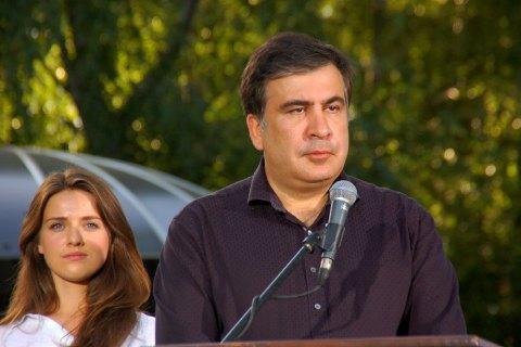 Саакашвили взял себе в заместители активистку Евромайдана