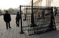 По просьбе депутатов забор возле Рады могут снести