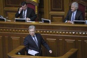 Рада одобрила бюджетную политику на 2012 год