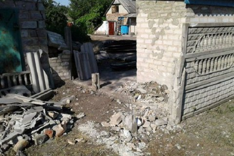Бойовики зруйнували 5 житлових будинків