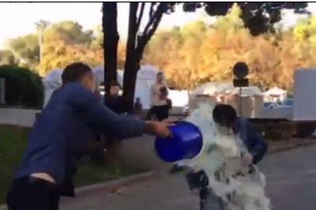 На Минфина Молдовы вылили ведро молока— Расправа задолги