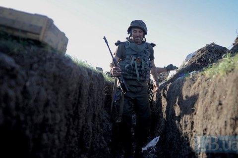 Задень боевики 12 раз обстреляли позиции ВСУ взоне АТО,— штаб