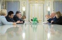 Порошенко призвал Совет Европы помочь с освобождением политзаключенных в РФ