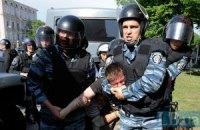 """""""Беркут"""" снес палатки оппозиции (добавлены фото и видео)"""