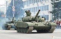 """В """"ДНР"""" провели репетицию """"парада"""" с запрещенной техникой"""