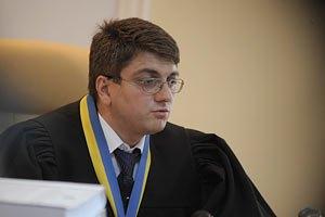У судьи Киреева 62 тыс. грн дохода за прошлый год