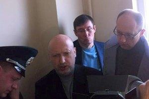 Оппозиционеров не пускают к Тимошенко