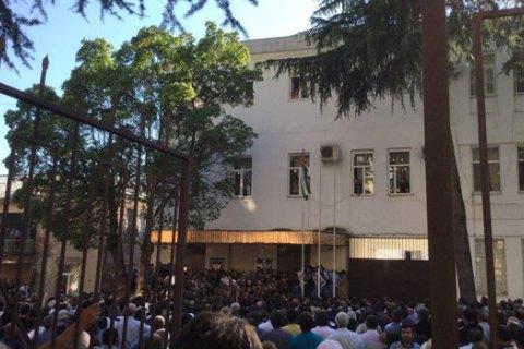 Президент Абхазии назвал протест уздания МВД попыткой дестабилизации ситуации