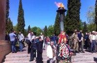 Во Львове празднование Дня Победы прошло почти без инцидентов