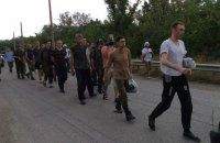 """""""ДНР"""" передала Украине 12 пленных, но один из них отказался от обмена (обновлено)"""
