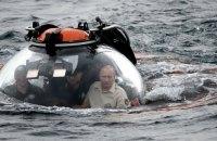 Путин погрузился в батискафе на дно Черного моря