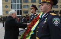 Азаров, Вилкул и Куличенко возложили цветы к Монументу Вечной Славы