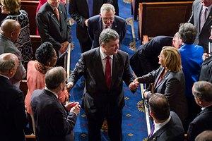 Порошенко выступил в Конгрессе США