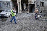 В Донецке в результате обстрелов погиб мирный житель