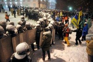 Еды для митингующих на Майдане хватит на 4-5 дней, - Тягнибок