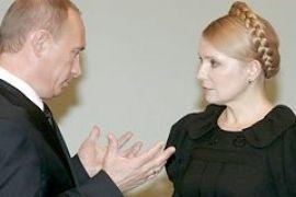 Тимошенко решила не говорить с Путиным о газе