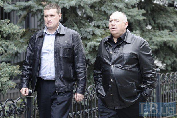 Святослав Пискун(справа)