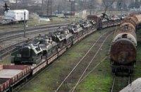 Из Львовской области вывозят военную технику