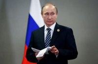 Путин лезет в окно