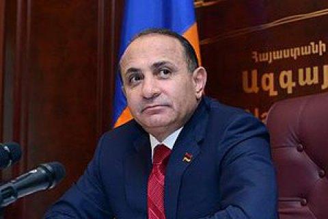 Премьер Армении Овик Абраамян объявил о собственной отставке