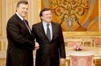 Баррозу напомнил Януковичу о соблюдении прав человека