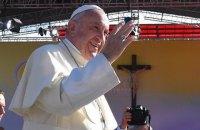 Папа Римский в рождественском послании попросил мира для Сирии и Украины