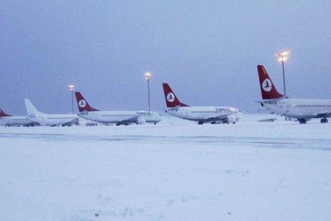 Аэропорты столицы Украины иХарькова начали отменять рейсы вСтамбул