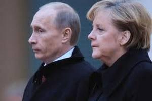 Путин рассказал Меркель, что Украина на грани гражданской войны