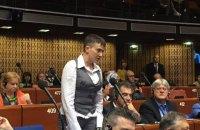 Савченко выступила против возобновления права голоса России в ПАСЕ