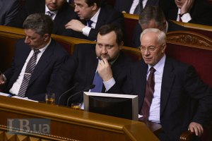 Азаров недоволен поведением депутатов
