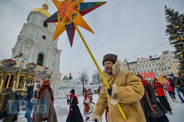 У центрі Києва відбулася різдвяна хода (додано фото) (фото)