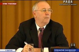 Рыбак: Рада рассмотрит отставку Азарова в пятницу