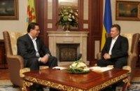 Янукович встретился со своим молдавским коллегой