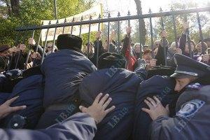 """""""Свобода"""" заявила о задержании и избиении у Рады двух партийцев"""
