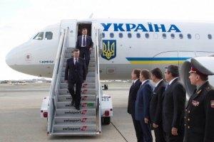 Янукович улетел к Путину