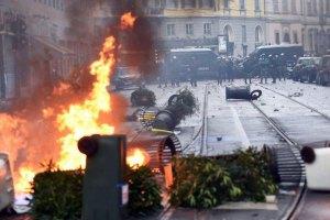В Милане на Первое мая устроили погром