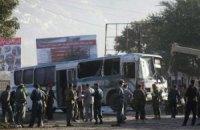 В Афганистане талибы подорвали два автобуса с кадетами полиции