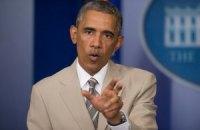 Обама настаивает на сохранении жестких санкций против России