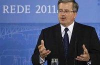 Президент Польши спросит у Януковича о Тимошенко, - источник