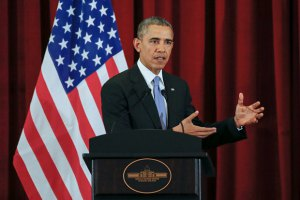 Обама: Россия занимает все более агрессивную позицию по отношению к Украине
