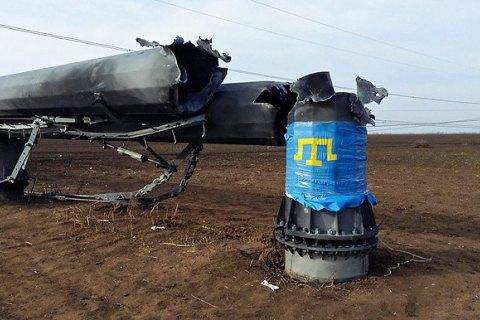 Кримські татари погодились назапуск однієї ЛЕП на півострів